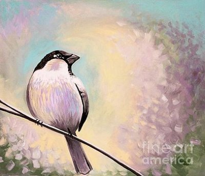 birds, art, paintings, ElizaArt, whimsical, acrylics,  wall art, wildlife, home decor art,  acrylics, elizabeth robinette tyndall