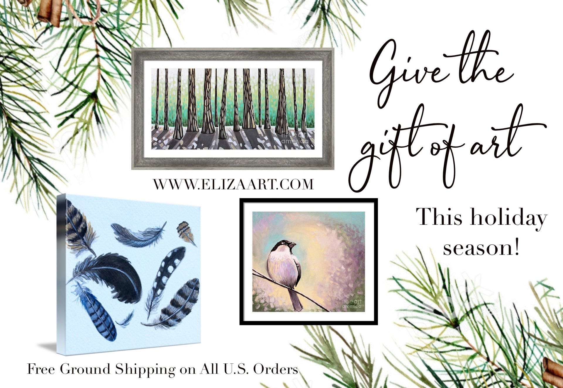 Give the Gift of Art This Holiday Season!